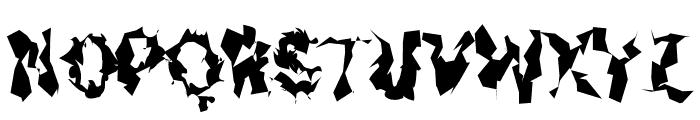 Asimov Silicon Narrow Font UPPERCASE