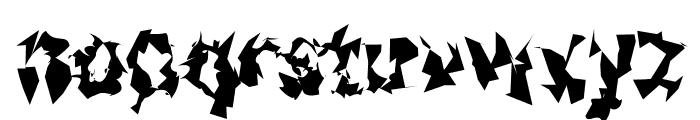 Asimov Silicon Narrow Font LOWERCASE