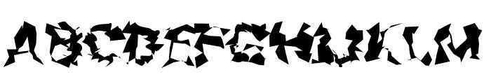 Asimov Silicon Wide Font UPPERCASE