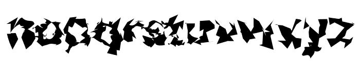 Asimov Silicon Wide Font LOWERCASE