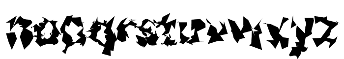 Asimov Silicon Font LOWERCASE