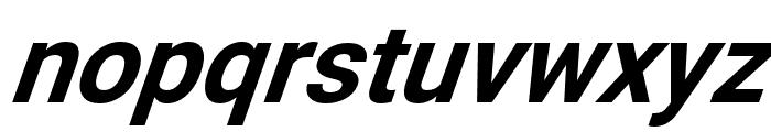 Asimov SuperItalic Font LOWERCASE