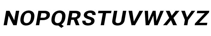 Asimov Wide Italic Font UPPERCASE