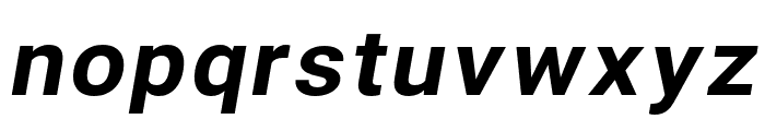Asimov Wide Italic Font LOWERCASE