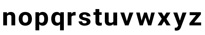 Asimov Wide Font LOWERCASE