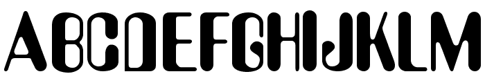 Asimov Font UPPERCASE