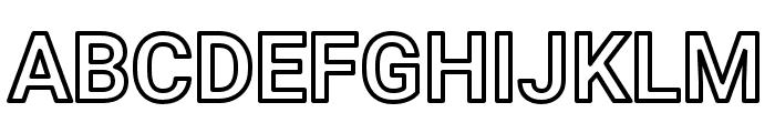 AsimovOu Font UPPERCASE