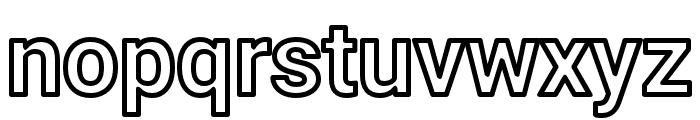 AsimovOu Font LOWERCASE