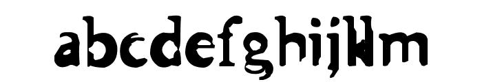 Asman Font LOWERCASE