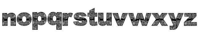AsmatFont2007 Font LOWERCASE