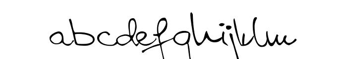 Aspades Regular Font LOWERCASE