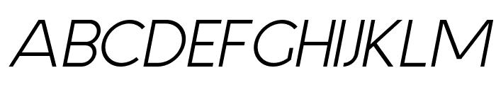 Aspergit Bold Italic Font UPPERCASE