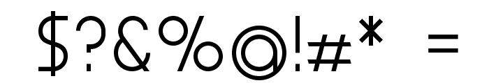 Aspergit-Bold Font OTHER CHARS