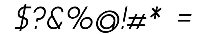 Aspergit-BoldItalic Font OTHER CHARS