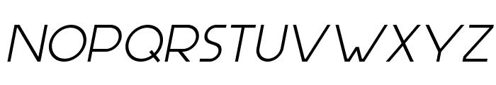 Aspergit-BoldItalic Font UPPERCASE