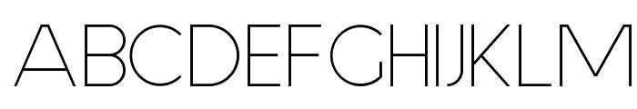 Aspergit Font UPPERCASE