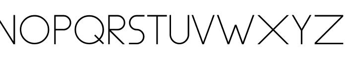 Aspex Font UPPERCASE
