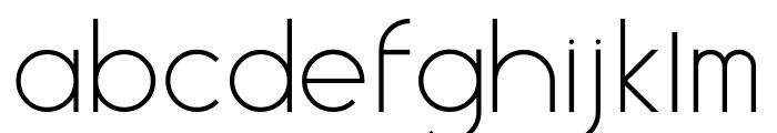 Aspex Font LOWERCASE