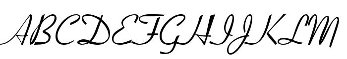 Aspire DemiBold Font UPPERCASE