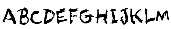 Asqualt Font UPPERCASE