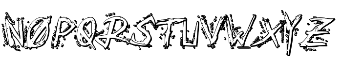 Assassin Nation 3D Regular Font UPPERCASE