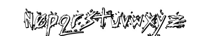 Assassin Nation 3D Regular Font LOWERCASE
