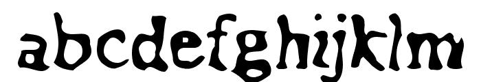 Assimilation Font LOWERCASE