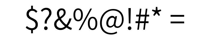 Assistant Regular Font OTHER CHARS