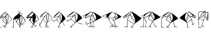 AssociationsBirds Font LOWERCASE