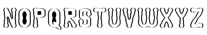 Astakhov Access Degree AS Serif Font UPPERCASE