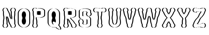 Astakhov Access Degree Serif S Font UPPERCASE