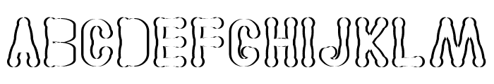 Astakhov Access Degree Serif SF Font UPPERCASE