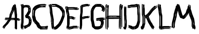 Astakhov Brush Hooliganism Font LOWERCASE