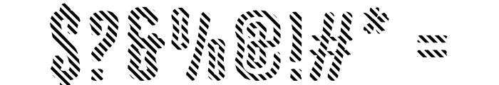 Astakhov Dished DL Serif Font OTHER CHARS