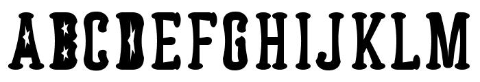 Astakhov Dished  FS Serif Font UPPERCASE