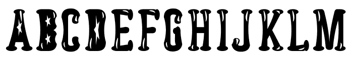 Astakhov Dished Gl FS Serif Font UPPERCASE