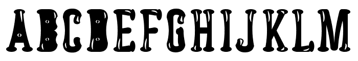 Astakhov Dished Glamour E-F-2 S Font LOWERCASE