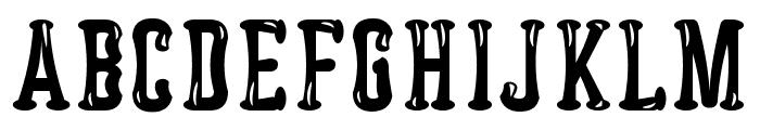 Astakhov Dished Glamour Serif Font UPPERCASE