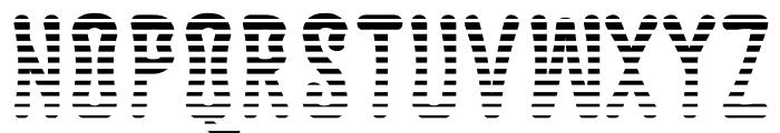 Astakhov Dished L Font LOWERCASE