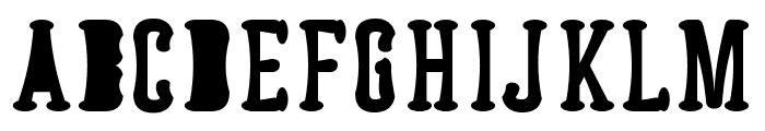 Astakhov Dished Serif F Font UPPERCASE