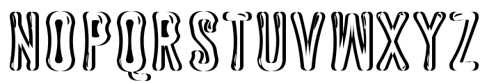 Astakhov Dished Shadow Glamour Font LOWERCASE