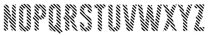 Astakhov First One Stripe DL Font UPPERCASE