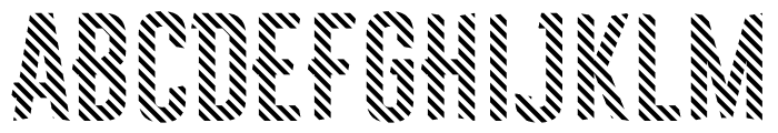 Astakhov First One Stripe DL Font LOWERCASE