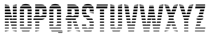 Astakhov First One Stripe L Font LOWERCASE