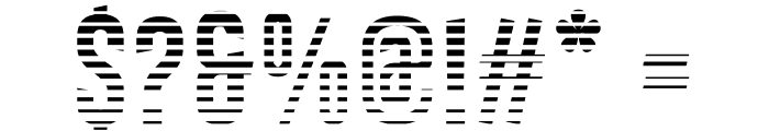 Astakhov First Two Stripes L Font OTHER CHARS