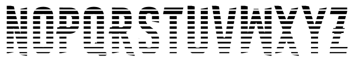Astakhov First Two Stripes L Font UPPERCASE