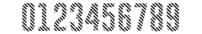 Astakhov First Two Stripes Font OTHER CHARS