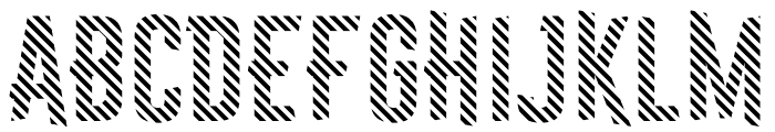 Astakhov First Two Stripes Font UPPERCASE