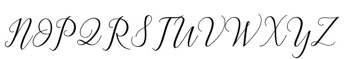 Astereiska Font UPPERCASE