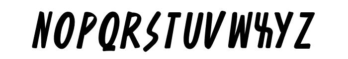 Asteristico Font LOWERCASE